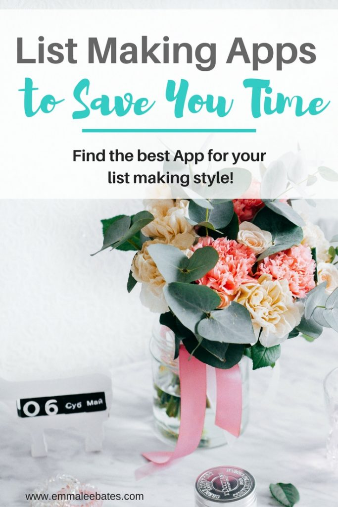 3 List Making Apps to save you time