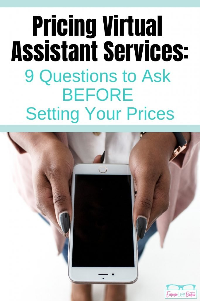 How do you price your Virtual Assistant services? Learn the difference between packages and hourly rates and 9 questions to ask yourself before you set your prices.