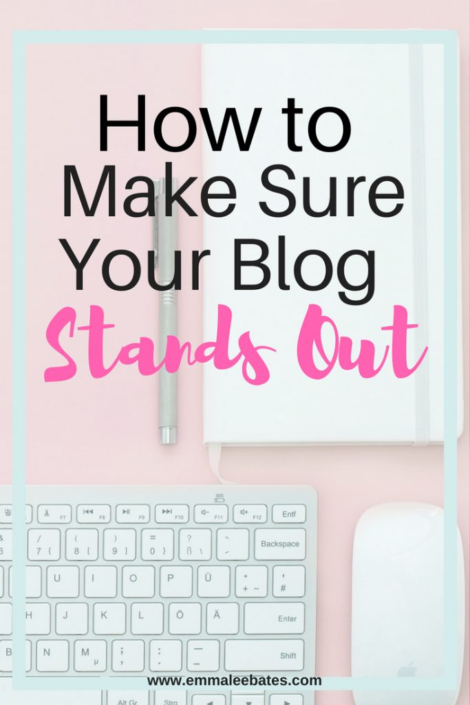 If You've decided to start blogging, this post will guide you on how to make sure your blog stands out.