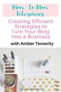 Amber Temerity of Embracing Temerity talks about efficiency in her business and how she can help you