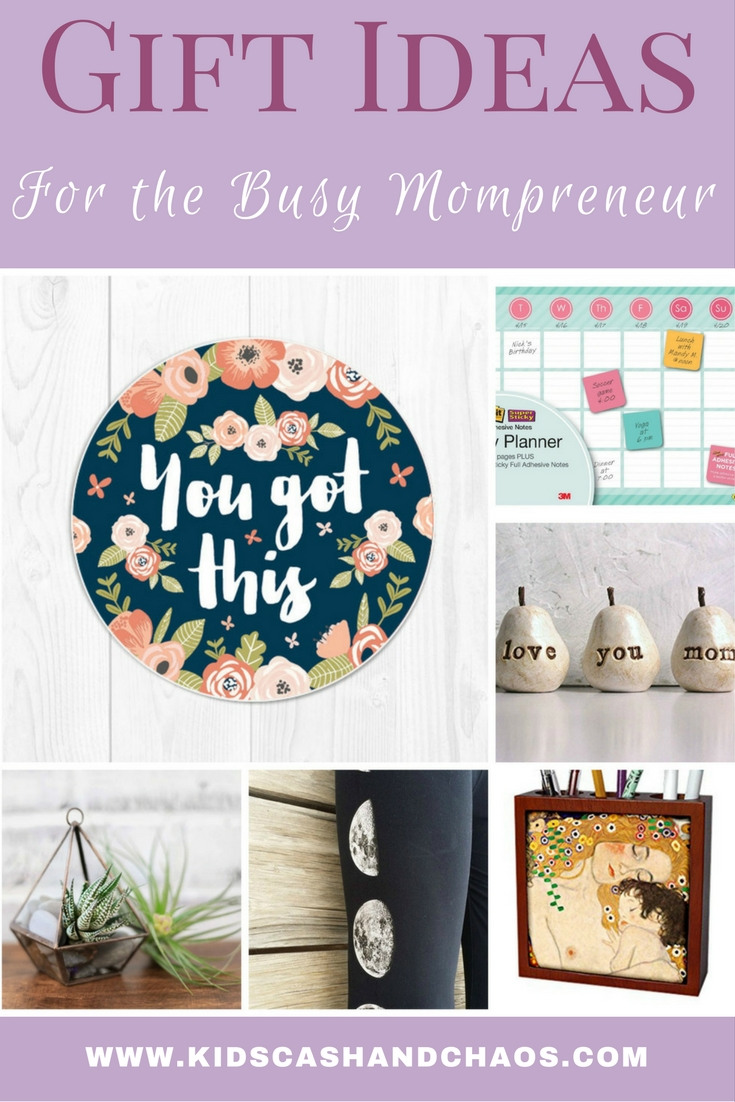 Gift Ideas for the Busy Mompreneur