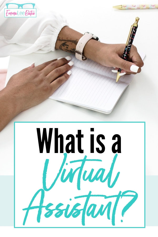 What is a Virtual Assistant? How can you become a VA? Check out this post with an explanation about what a VA does and tons of ideas on services to offer! #virtualassistant #workfromhome