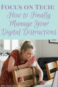 Focus on Tech: How to Finally Manage Your Digital Distractions. Do you constantly respond to notifications and social media? Read this to find out how to focus on what is really important and ditch those distractions for good.
