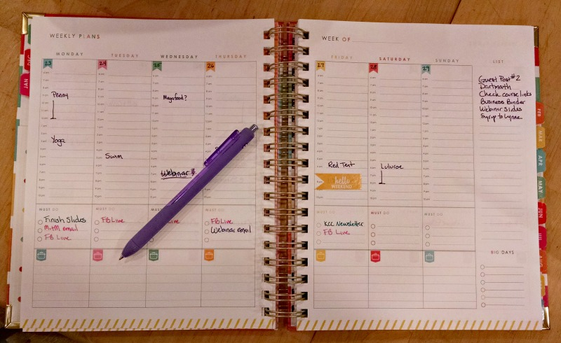The Living Well Planner Review
