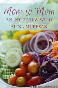 Mom to Mom: An Interview with Alina Muresan, Holistic Nutrition, Constipation Help,