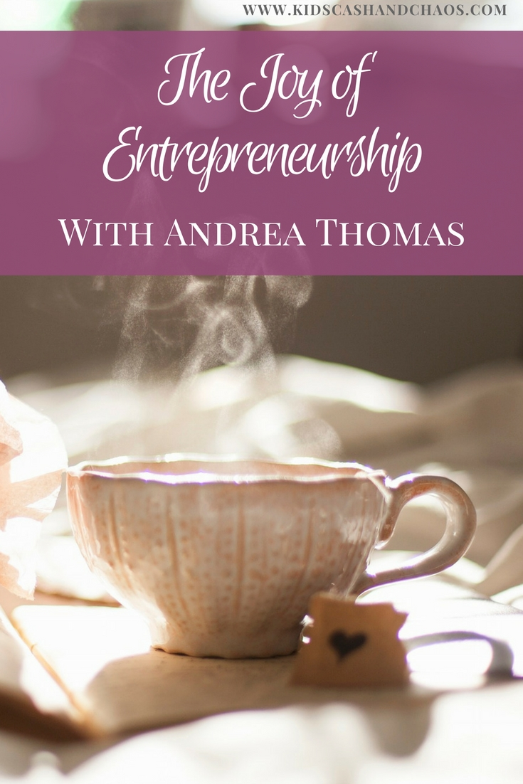 Andrea Thomas own multiple businesses while raising four kids. Find out what brings her joy and how she can help you!
