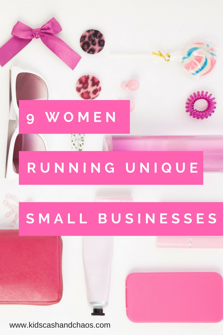 9 Women running unique small businesses