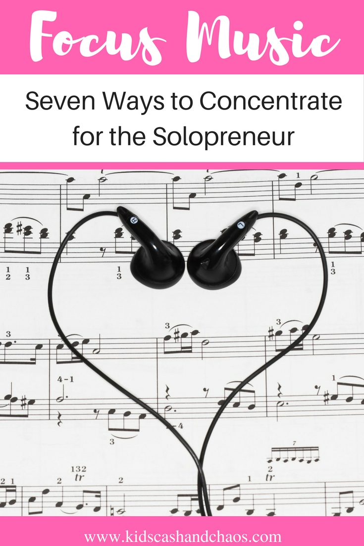 Focus Music for the Solopreneur