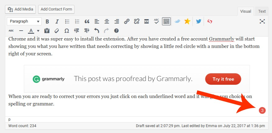 Review of Grammarly app