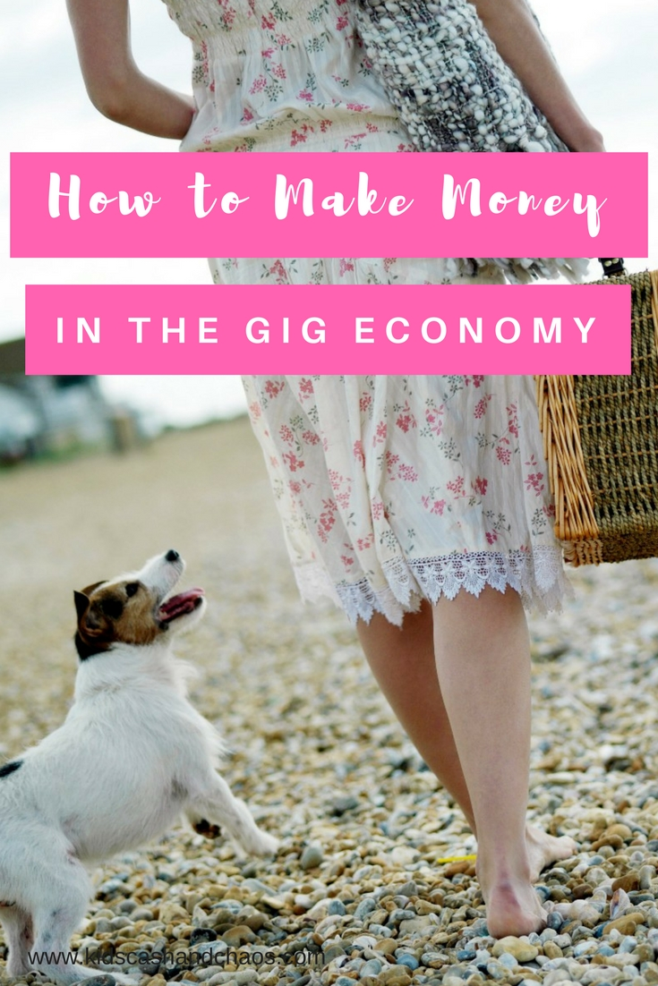 Looking to make some extra money? Need a side hustle? Check out this list of ways to make money in the gig economy!