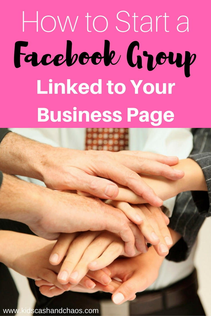 How to Start a Facebook Group that is linked to your Facebook Business Page. Super easy, includes a video to walk you through all the steps.