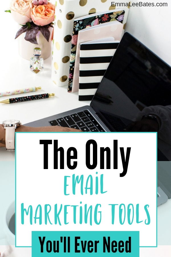 Ready to build a robust email list? Learn the only two email marketing tools you'll ever need! #emailmarketing #emaillist