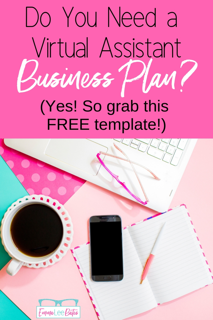 Are you taking your Virtual Assistant business seriously? Then you need to create a business plan! Grab your FREE One Page Business Plan template and get starting building your business right! #smallbiz #virtualassistant