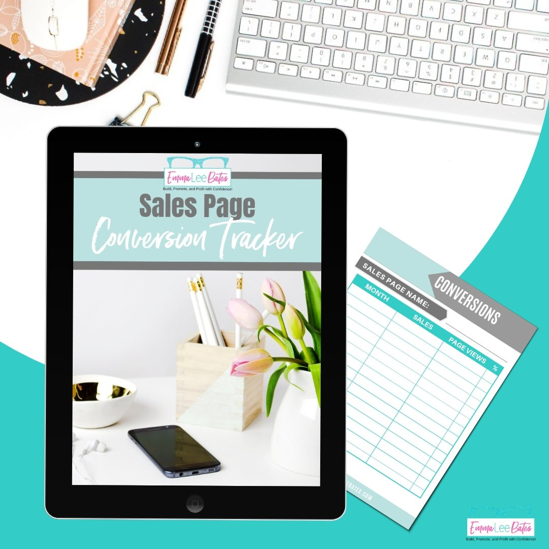 Sales Page Conversion Tracker