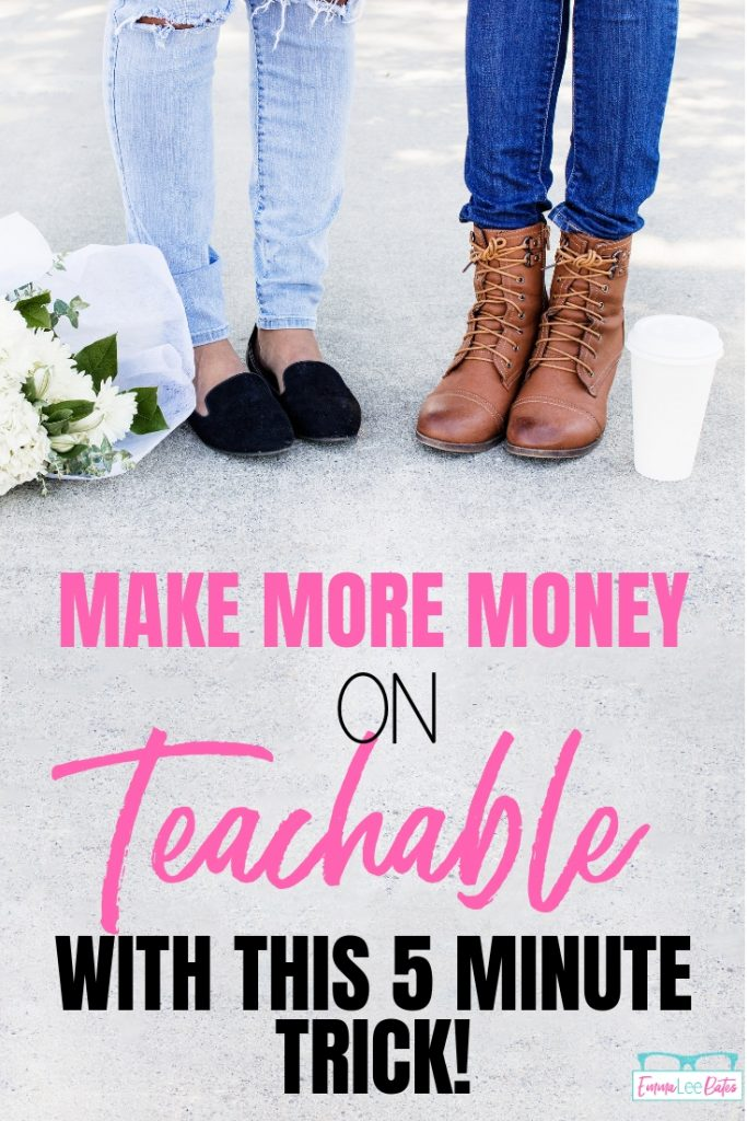 Use this simple trick to make more money with your Teachable school! Learn how to add an upsell on Teachable. #upsell #course