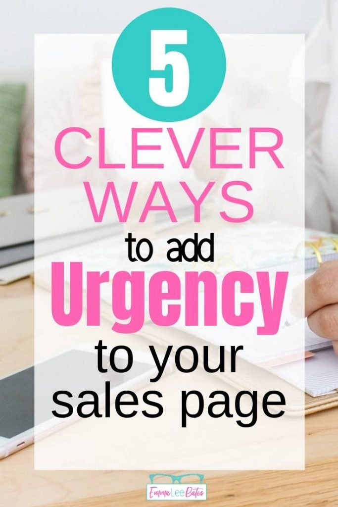 Are you not seeing the results you want from your sales page? Try adding a sense of urgency! Here are five ways to increase urgency on a sales page.