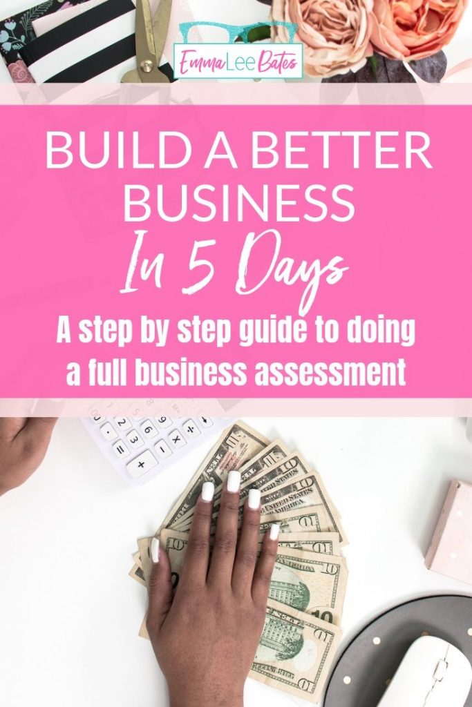 Do a full assessment of your business in five days with this step by step workbook. See more business growth than ever before!
