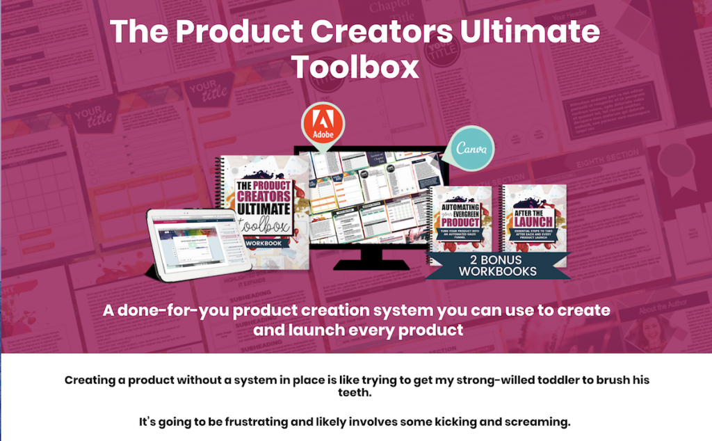 The Product Creators Ultimate Toolbox