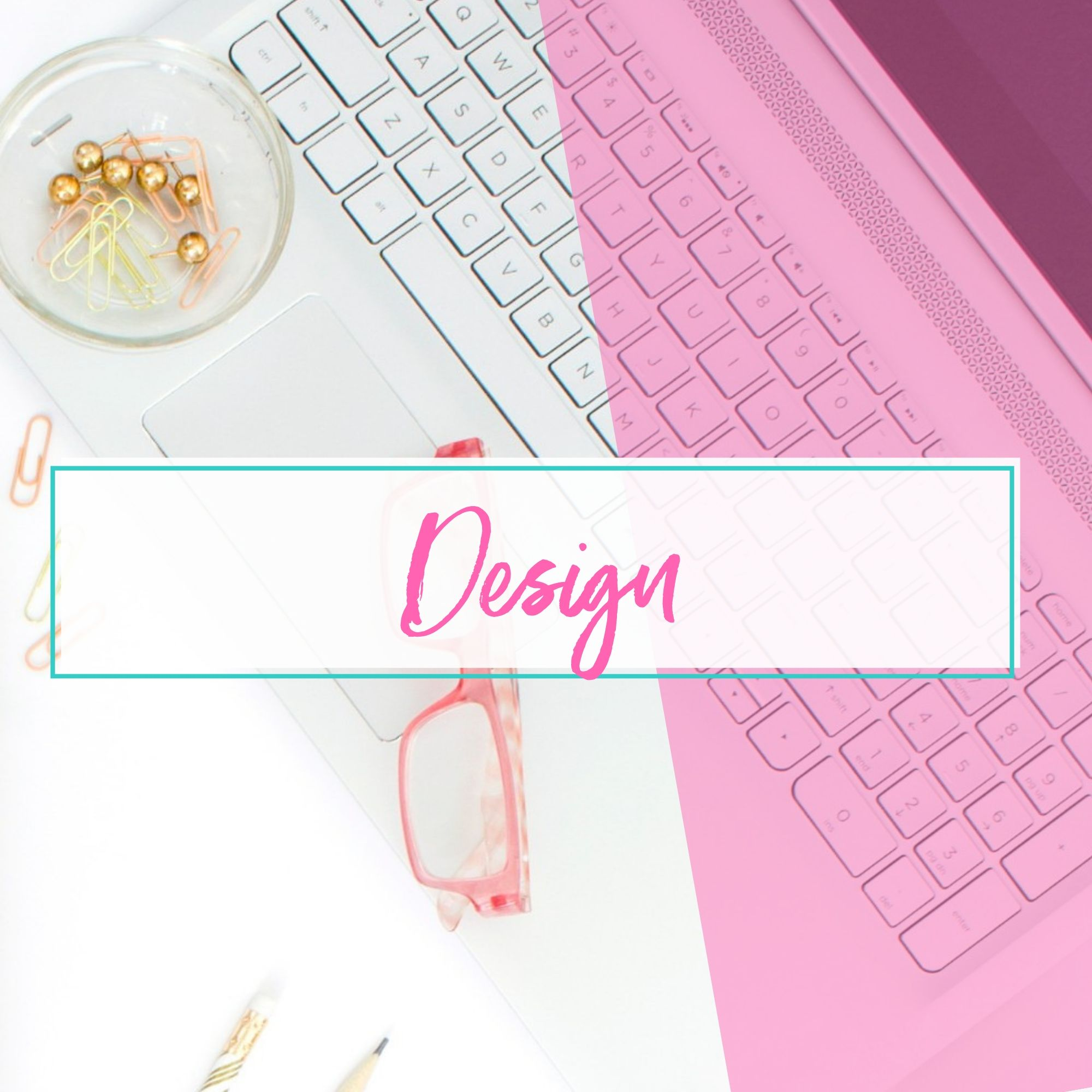 Design - sales page design, product design and branding