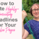 how to write highly-converting headlines
